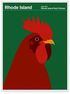 Trademark Global Print Collection - Artist 'Rhode Island Red Chicken' Canvas Art - 35 x 47 Artist Canvas, Canvas Art, Framed Canvas, Framed Prints, Art Prints, Red Chicken, Chicken Art, Chicken Logo, Voyage Usa