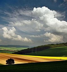 Spring Fields Nature Czechia Landscape Landscape Nature Of - The mesmerising beauty of moravian fields photographed by marcin sobas