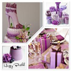 Purple Color Palettes, Purple Palette, Glass Vase, Mirror, Home Decor, Interior Design, Home Interior Design, Mirrors, Home Decoration