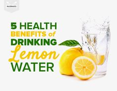Why you should drink Lemon Water. Peace. Love. Vitality. #lemonwater #health #vitaminC