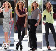 El 'ángel' de Victoria's Secret Candice Swanepoel posa con las tendencias del momento #fashion #models