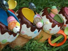 Ice cream bowls!