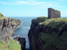 Castle of Old Wick, Scotland