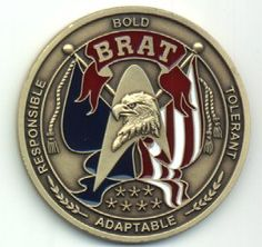 The Coin to the   Military BRAT