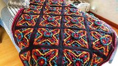 learn to make this beautiful crochet quilt in squares Crochet Quilt, Crochet Afghans, Crochet Blankets, Baby Blankets, Crochet Diagram, Crochet Patterns, Caron One Pound Yarn, Crochet Crowd, Southern Caribbean