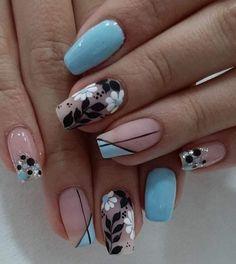 Nail Art, Beauty, Nail Manicure, Fingernail Designs, Hands, Make Up, Nail Arts, Beauty Illustration, Nail Art Designs