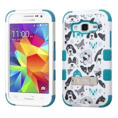 MYBAT TUFF M-Stand Galaxy Core Prime Case - Cutedogs
