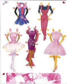 Miss Missy Paper Dolls: Barbie
