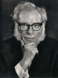 Isaac Asimov (1920-1992) Russian-born American Jewish science fiction writer, author of over 500 books, and professor of biochemistry