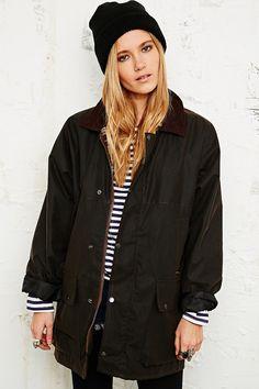 Vintage Renewal Wax Jacket in Brown - Urban Outfitters £65