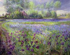 paintings of iris flowers - Yahoo Image Search Results Iris Painting, Painting Prints, Wall Art Prints, Canvas Prints, Framed Prints, Painting Flowers, Oil Paintings, Iris Art, Odilon Redon