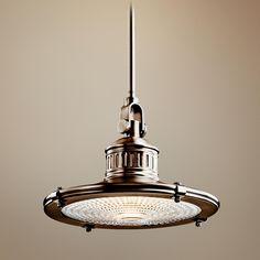kichler sayre collection antique pewter pendant light antique pendant lighting