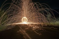 Steel Wool in the Street by Photo Extremist, via Flickr