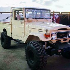 FJ45 Land Cruiser Beast ! Toyota FJ40 Not A Jeep!