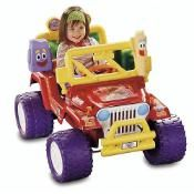 Power Wheels Dora the Explorer Jeep
