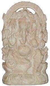 Amazon.com: Yoga Decor Ganesha Spiritual Stone Statue Five Headed Lord Ganesha Sculpture 9: Home & Kitchen