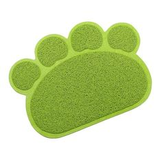 Tera Paw Claw Embossed Style 11.8x15.8 inch PVC Pet Dish Dinner Water Bowl Mat Blanket for Dog Cat Pet -- Check out this great product.