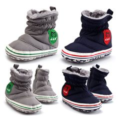 Wish | Baby Girls&Boys Winter Snow Boots Bowknot Shoes Prewalker