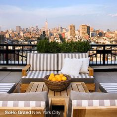 Great urban rooftop space. http://www.sohogrand.com/photo-gallery