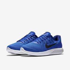 Nike Lunarglide 8 Mens Running Shoes 10 Racer Blue Deep Royal 843725 400 #Nike #RunningCrossTraining