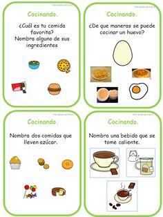 Preschool Spanish, Teaching Spanish, Speech Language Pathology, Speech And Language, Spanish Worksheets, Receptive Language, Aspergers, Speech Therapy, Kids Learning