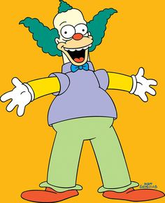 "Is Krusty the Clown going to be killed in Season 26 premiere of ""The Simpsons?"" Fans of ""The Simpsons"" already know that a fan-favorite character will meet his demise on the Season 26 premiere of the long-running show. Thundercats Costume, Thundercats Characters, Thundercats Logo, Simpsons Characters, Es Der Clown, Le Clown, Comics Und Cartoons, Old Cartoons, Cartoon Tv"
