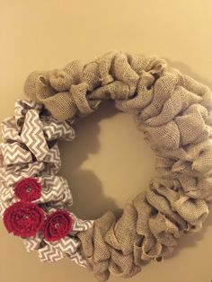 Hey, I found this really awesome Etsy listing at https://www.etsy.com/listing/206800846/burlap-chevron-wreath