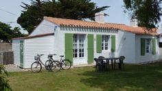 MAISON NOIRMOUTIER EN L'ILE - LE VIEIL - AVEC JARDIN - 300 M DE LA PLAGELocation de vacances � partir de Noirmoutier en l'Ile @HomeAway! #vacation #rental #travel #homeaway