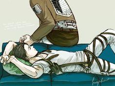 Erwin Smith / Levi   Shingeki no Kyojin   Eruri   VK