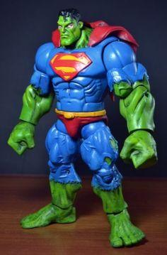 Supermanhulk (Marvel Legends) Custom Action Figure by Eddiegrayce's Custom