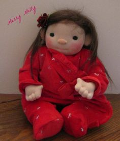 Merry Melly My Christmas Baby by peglee on Etsy, $245.00