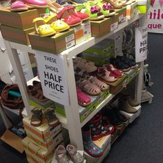 Half price shoes- winter and summer! #lastchance #shop3280 #Warrnambool #wunta by loveleelittleones