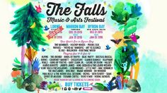 Official poster of Falls Festival 2015-2016