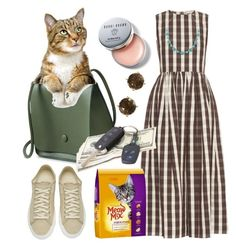 """""""Running Out to buy Cat Food"""" by stephanie-mac on Polyvore featuring Brock Collection, Diemme, Lucky Brand, Bobbi Brown Cosmetics and Effy Jewelry"""