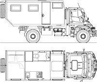 Mercedes Benz Unimog, Mercedes Benz Trucks, Camper Caravan, Truck Camper, Camper Equipment, Mechanical Engineering Design, Cool Rvs, Adventure Campers, Daimler Benz