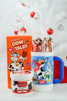Cow Tales Holiday Gift Mug | ***Black Friday Deal 20% OFF Everything* Coupon Code: 16BFRI Coupon must be applied at checkout. Offer is valid for one use per person on an order placed between 12:01AM EST through 11:59PM EST on Friday, November 25th, 2016. Discount does not apply to taxes or shipping