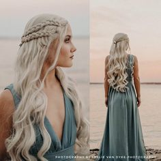 Cute Hairstyles, Wedding Hairstyles, Braided Front Hairstyles, Viking Hair, Mother Of Dragons, Synthetic Lace Front Wigs, Grunge Hair, Prom Hair, Human Hair Wigs