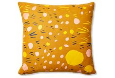 Pebbles 18x18 Linen Pillows, Multi on OneKingsLane.com