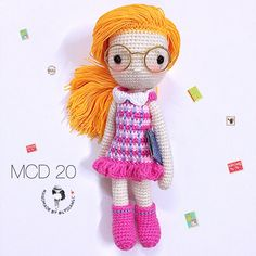 My Crochet Doll no.20 @ school girl