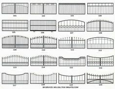 Iron Gate Design Ideas Is beautifully designed, aesthetically appealing gate can improve the beauty of the house. Gate of handmade and uni. Steel Gate Design, Front Gate Design, Main Gate Design, House Gate Design, Door Gate Design, Metal Gates, Wrought Iron Gates, Wrought Iron Gate Designs, Iron Gates Driveway