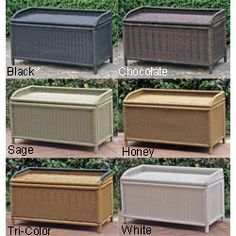 @Overstock - Outdoor or indoor bench can be used as a seat or for storage Patio furniture is made of sturdy PVC and steel Trunk is perfect for storing garden or pool supplieshttp://www.overstock.com/Home-Garden/PVC-and-Steel-Storage-Bench/3174526/product.html?CID=214117 $147.99