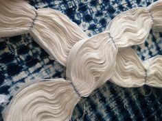Japanese textile dye technique - shibori tye dye indigo