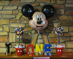 mickey mouse birthday party ideas | Banana Lala: {Real Life Parties} Mickey Mouse Clubhouse for 1-year-old ...