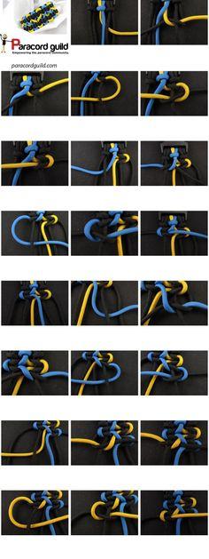 wide paracord bracelet instructions by Jersica