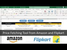 Price Fetching Tool from Amazon and Flipkart | Web Automation using VBA - YouTube Tools, Learning, Amazon, Youtube, Instruments, Amazon Warriors, Riding Habit, Amazon River, Study