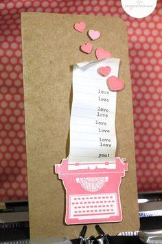 valentine's day card diy