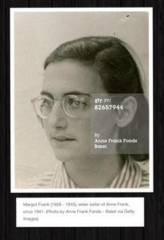 C.1941 ~ Margot Frank (1926-1945)