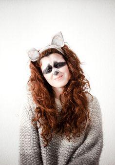 Halloween diy raccoon costume raccoon costume raccoons and costumes diy disfraz de mapache raccoon costumeholiday solutioingenieria Gallery