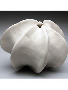 Heather Knight's Porcelain Small Pod Sculpture Vase