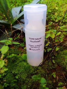 100% Natural Mouthwash Antiseptic Antibacterial Vegan by Naturela